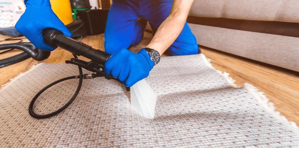 lavar Carpete com extratora