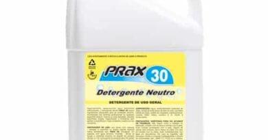 como tirar gordura com detergente Prax 30