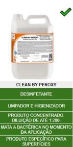 Clean by peroxy comparação