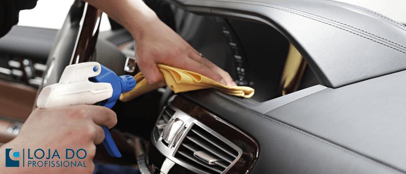 Desinfectação Interna de Automóveis