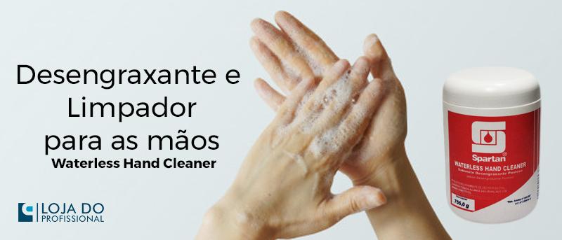 Desengraxante para as mãos