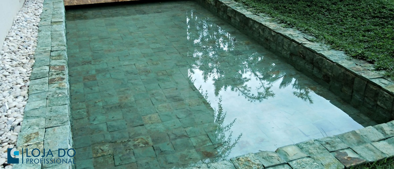 cuidar de piscina com Pedra Hijau