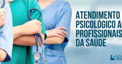 atendimento psicológico aos profissionais da saúde