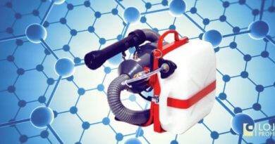 Desinfecção com Atomizador Elétrico Pulsfog