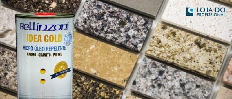 Impermeabilizante para Pedra de Granito Idea Gold