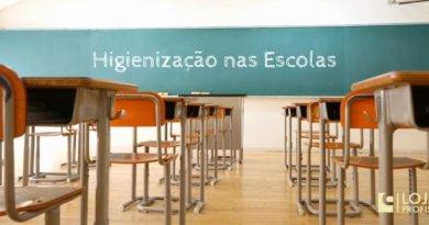 higienização nas escolas em tempos de pandemia
